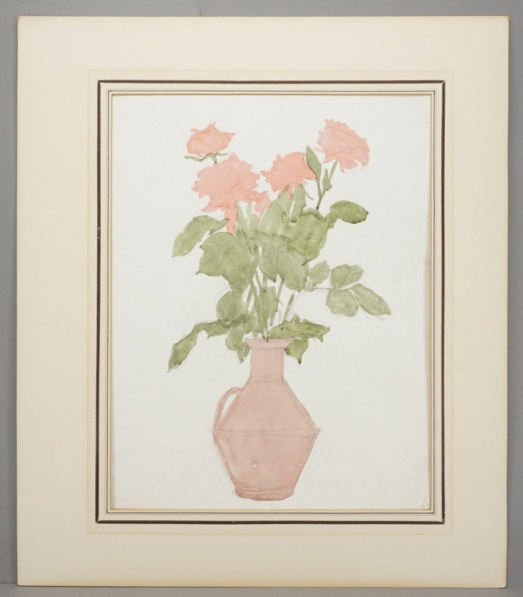 Franz Werneke, Rosen im Tonkrug - Bild 2 aus 4