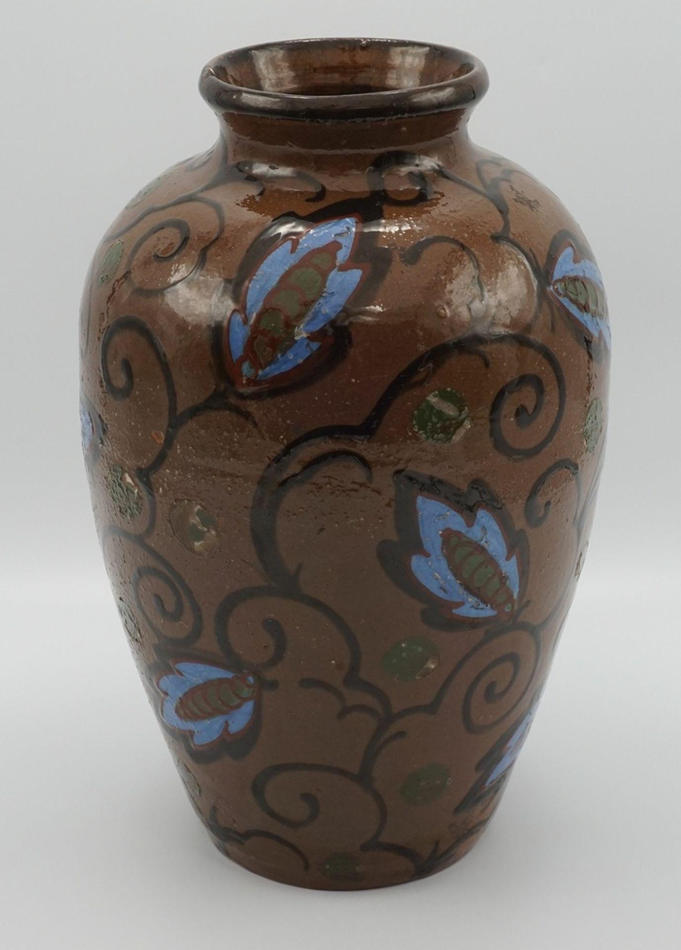 Vase von Ernst Huber-Roethe, um 1920 - Bild 2 aus 3