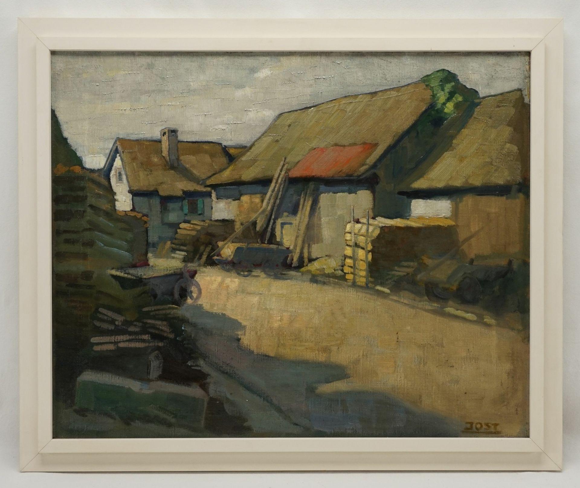 """Georg Jost, """"Dorfstrasse"""" - Bild 2 aus 4"""