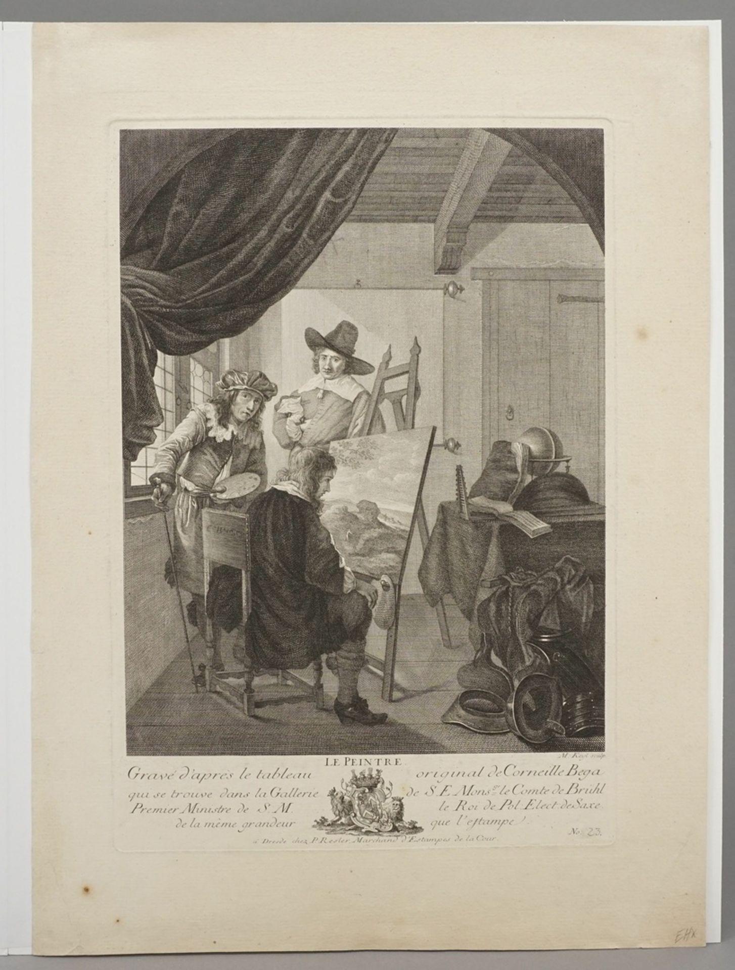 "Cornelis Pietersz Bega, ""Le Peintre"" (Der Maler) - Bild 3 aus 3"