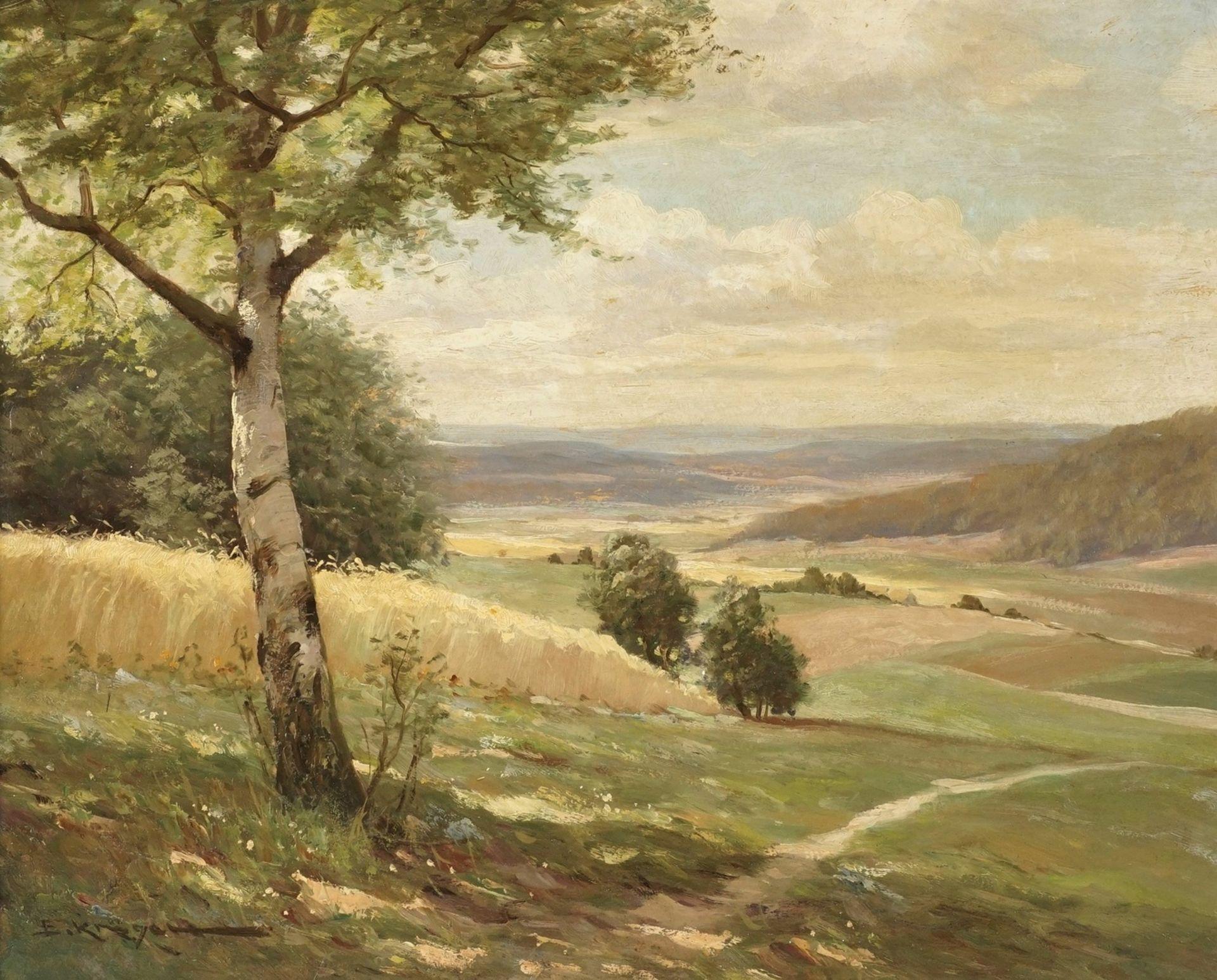 Erich Krüger, Sommer im Vorharz