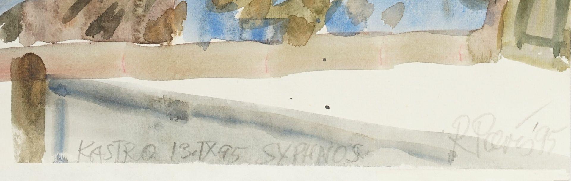 "Ronald Paris, ""Kastro Syphnos (Sifnos)"" - Bild 3 aus 3"