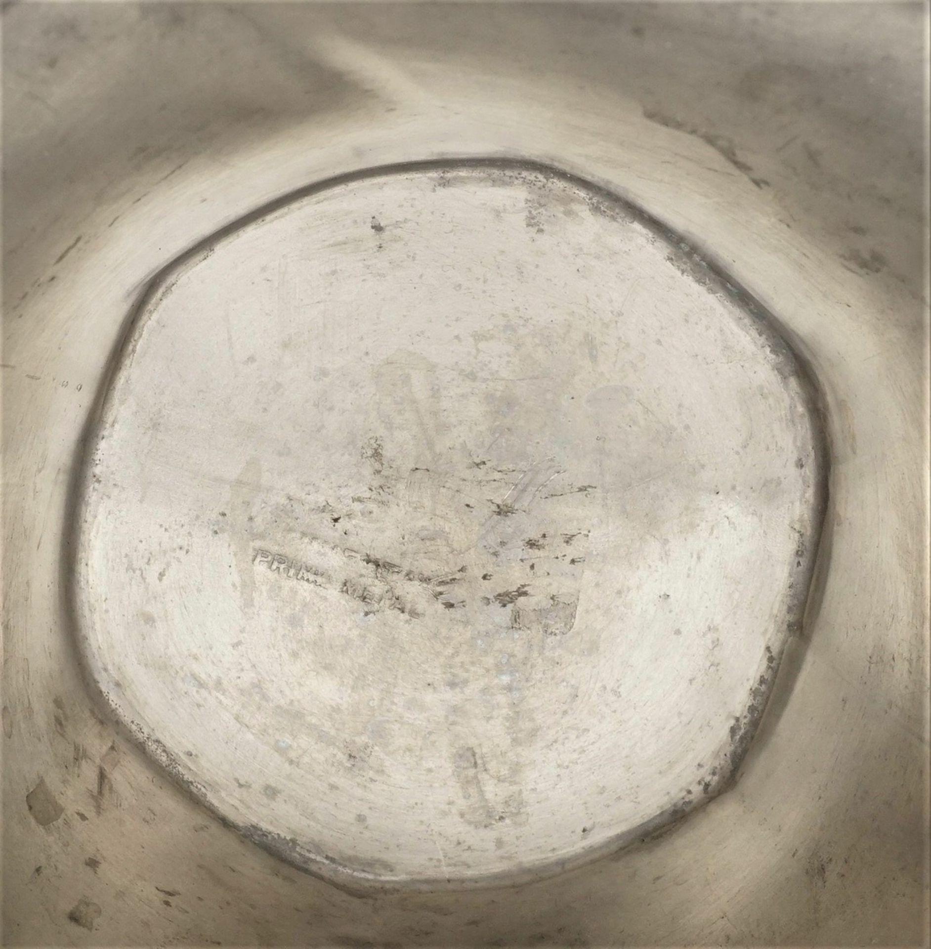 Juventa Prima Metal Doppelhenkelvase, vermutlich 1902-1908 - Bild 3 aus 3