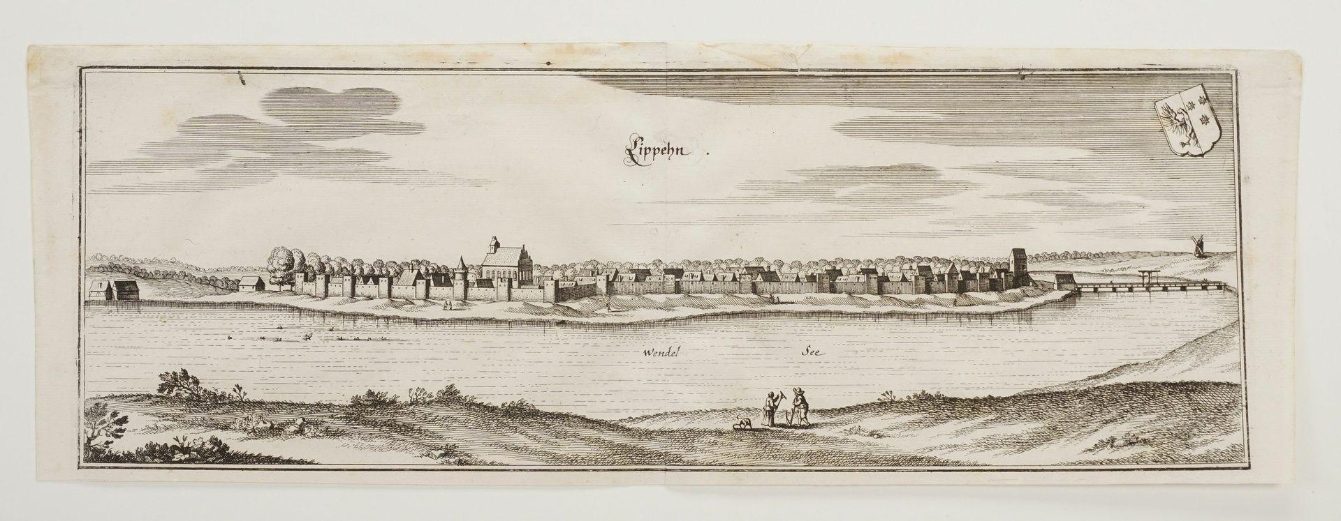 """Matthäus Merian, """"Lippehn"""" (Lipiany, Westpommern) - Bild 3 aus 3"""