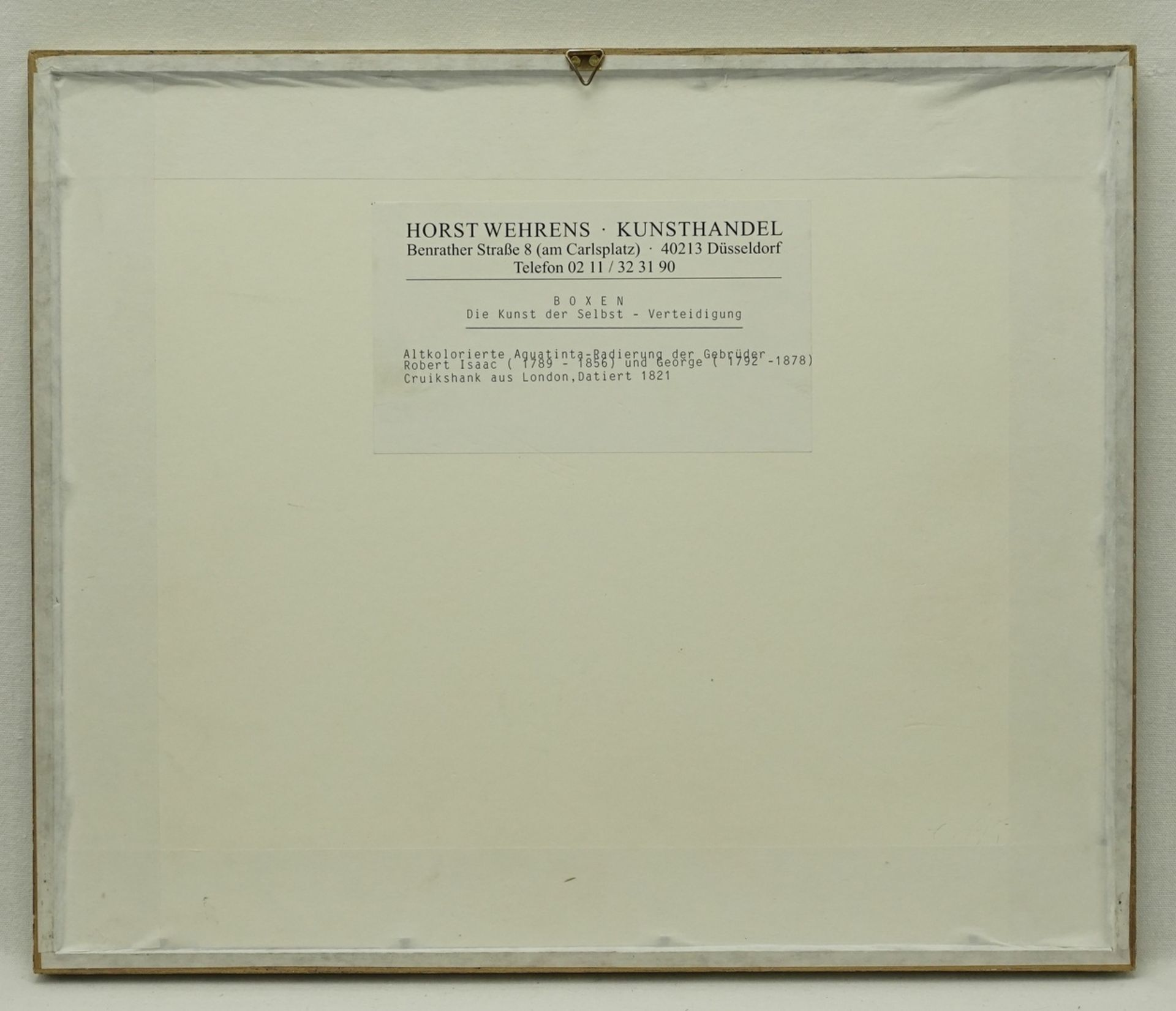 """Isaak & George Cruikshank, """"Art of Self Defense"""" (Die Kunst der Selbst-Verteidigung) - Bild 3 aus 3"""