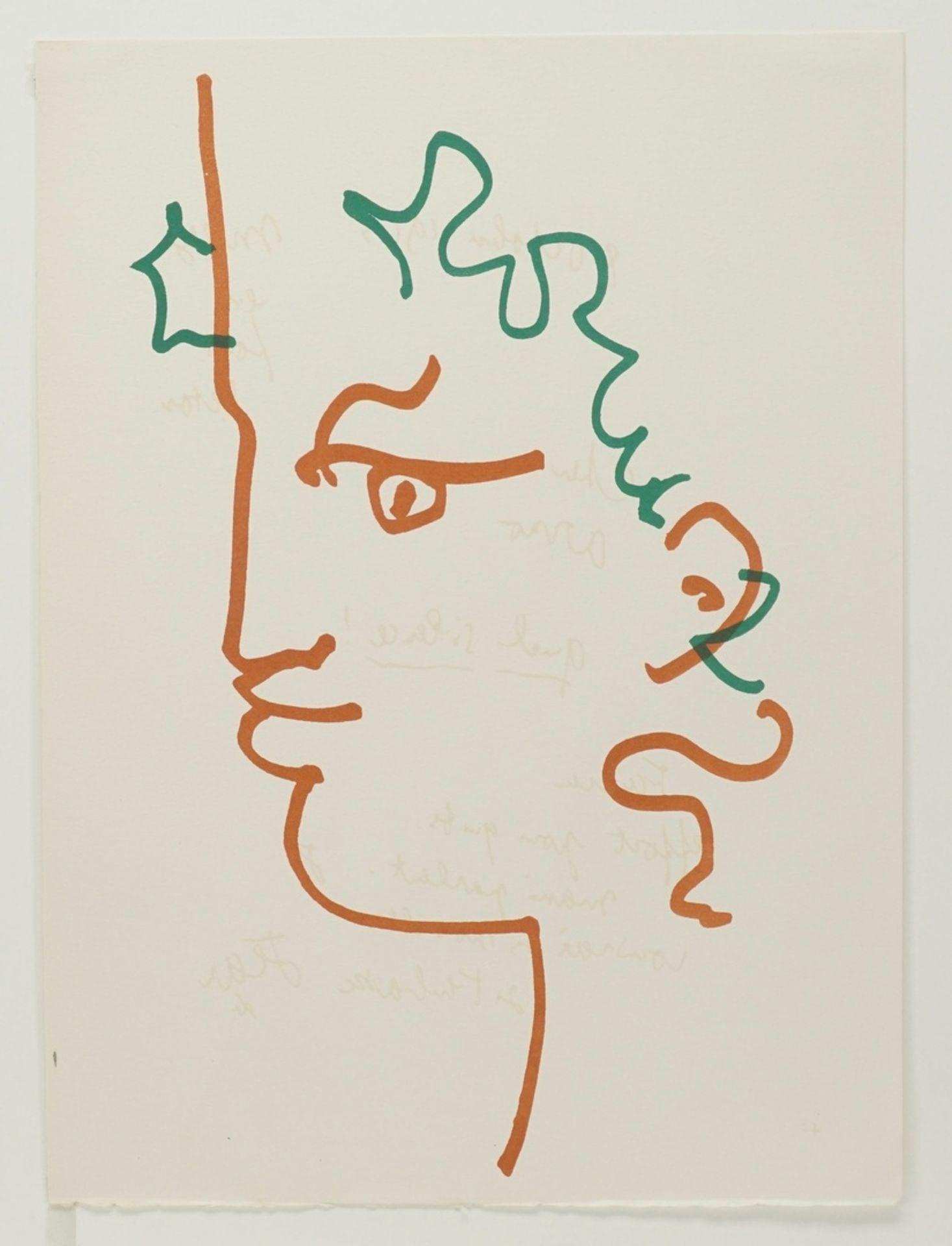 "Jean Cocteau, ""Kopf eines Fauns"" - Bild 3 aus 3"