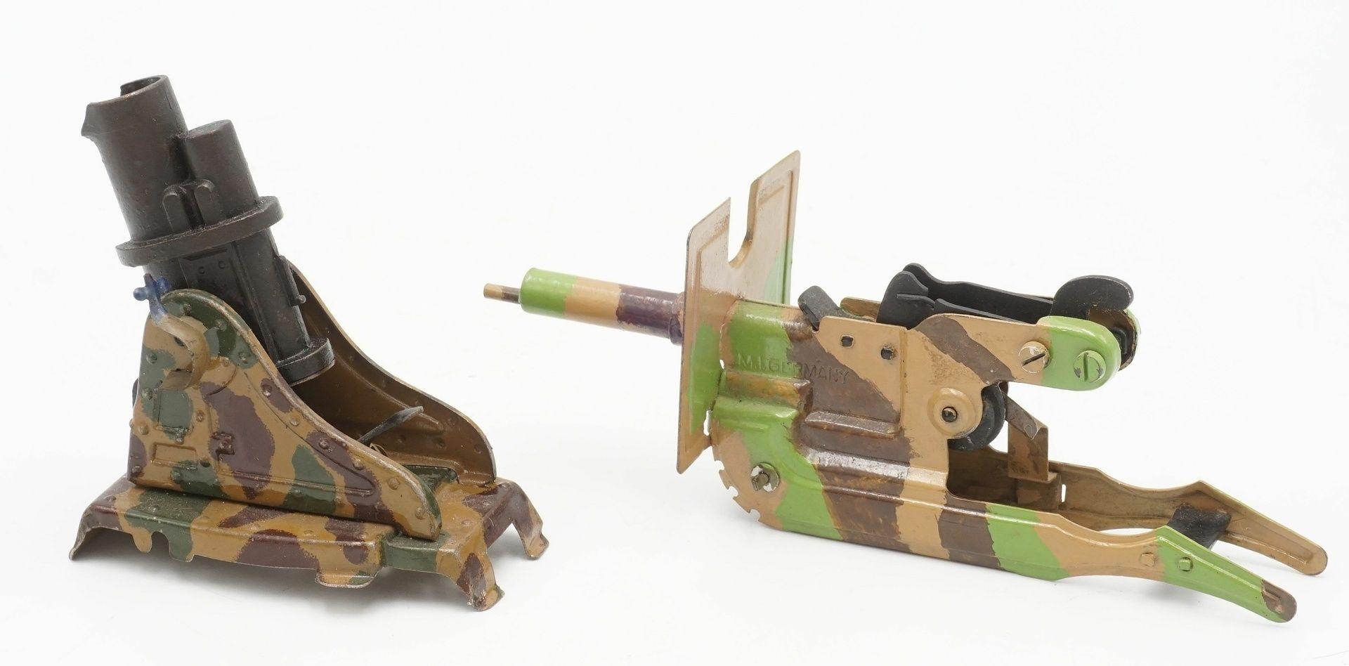 Sieben Blech Geschütze, 1. Hälfte 20. Jh. - Bild 7 aus 7