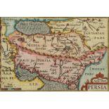 """Petrus Bertius, """"Persia"""" (Landkarte von Persien)"""