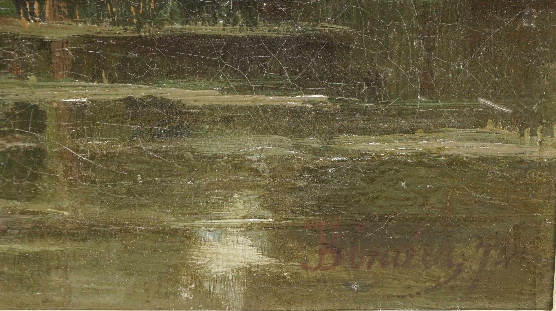 Binder, Flusslandschaft - Bild 4 aus 4