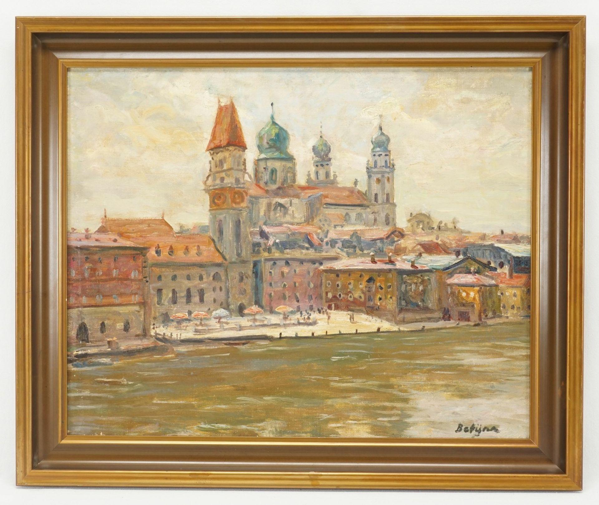 Paul Betyna, Teilansicht von Passau mit dem Dom - Bild 2 aus 4