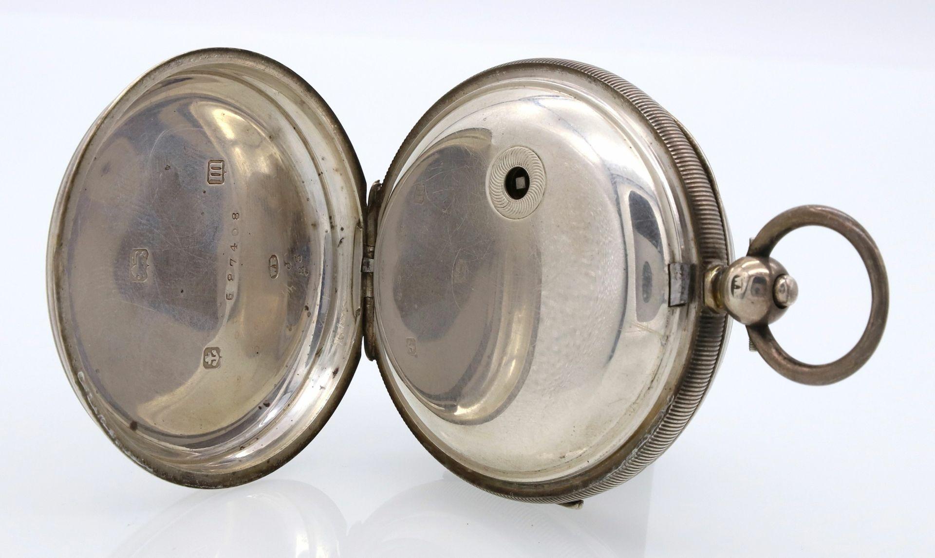 James Reid & Brothers Silber Taschenuhr, 1911 - Bild 5 aus 6