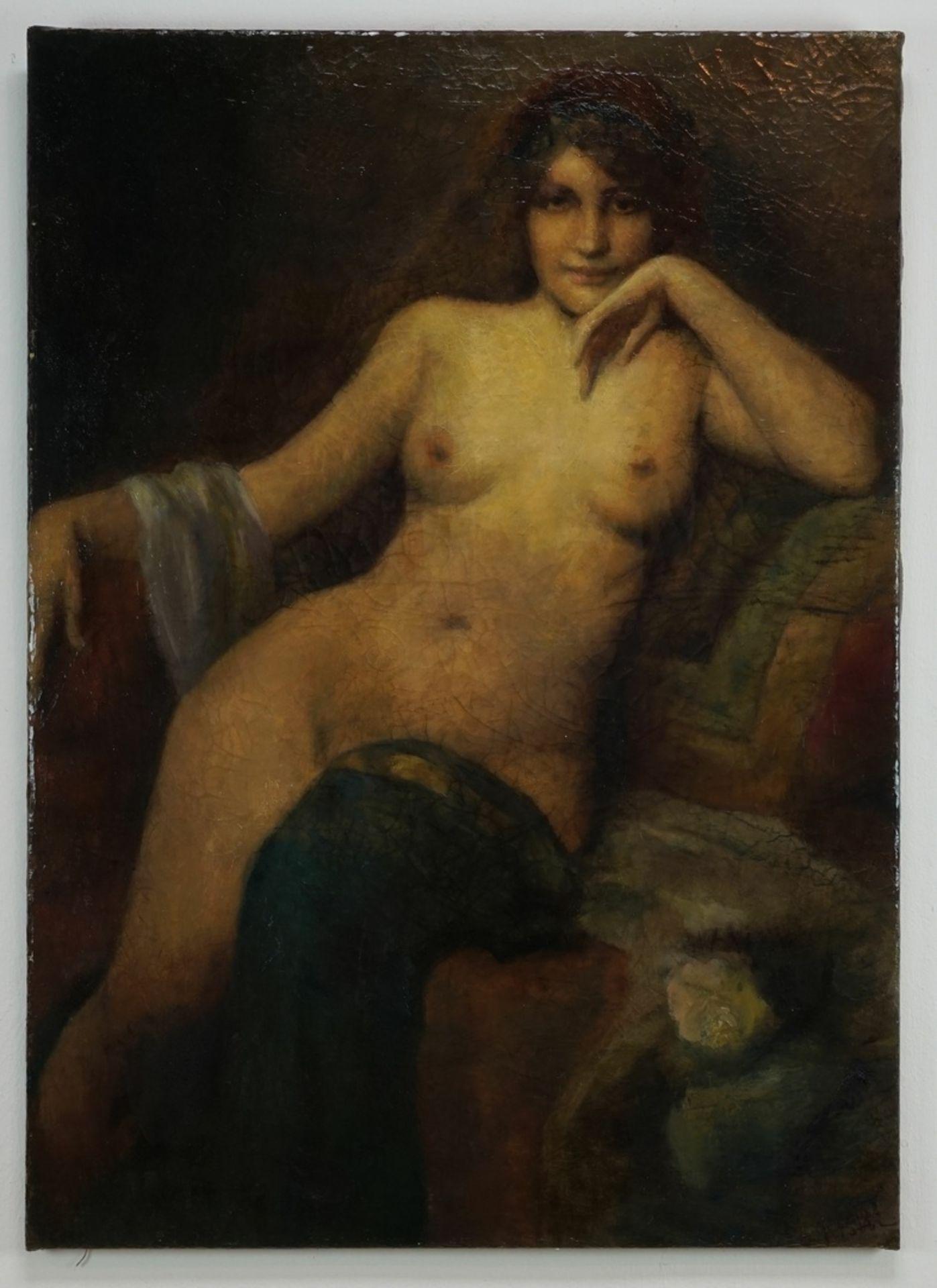 Fabio Fabbi, Orientalisierender weiblicher Akt - Bild 2 aus 5