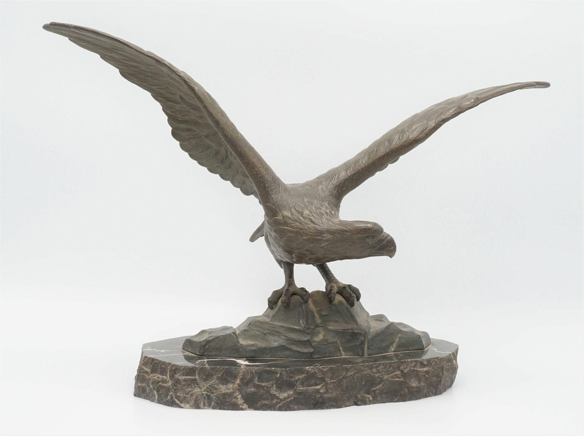 Peder Marius Jensen, Auffliegender Adler - Bild 2 aus 5