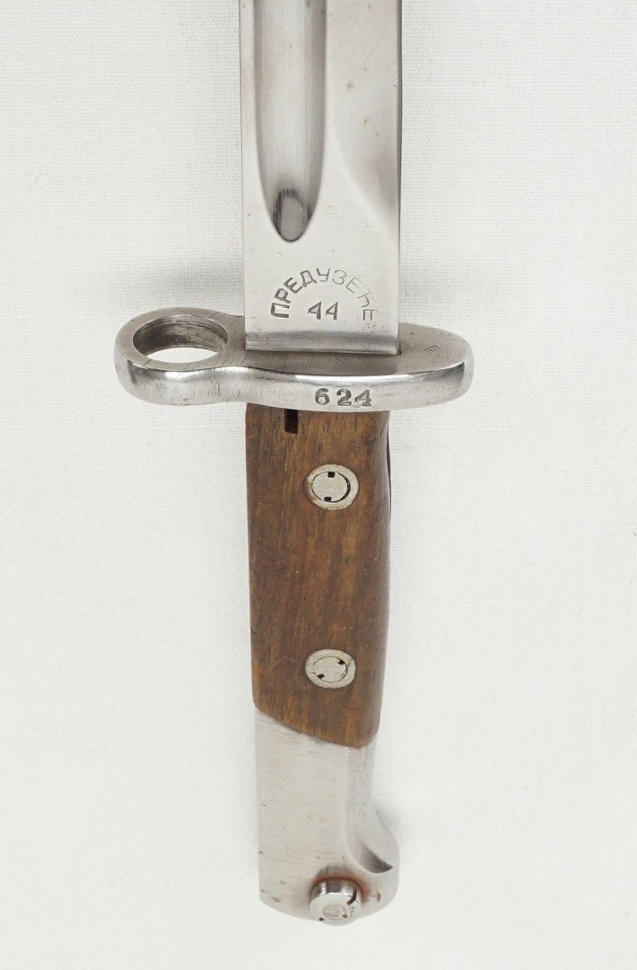 Vier Bajonette ohne Scheide, 1900 bis 1945 - Bild 5 aus 5