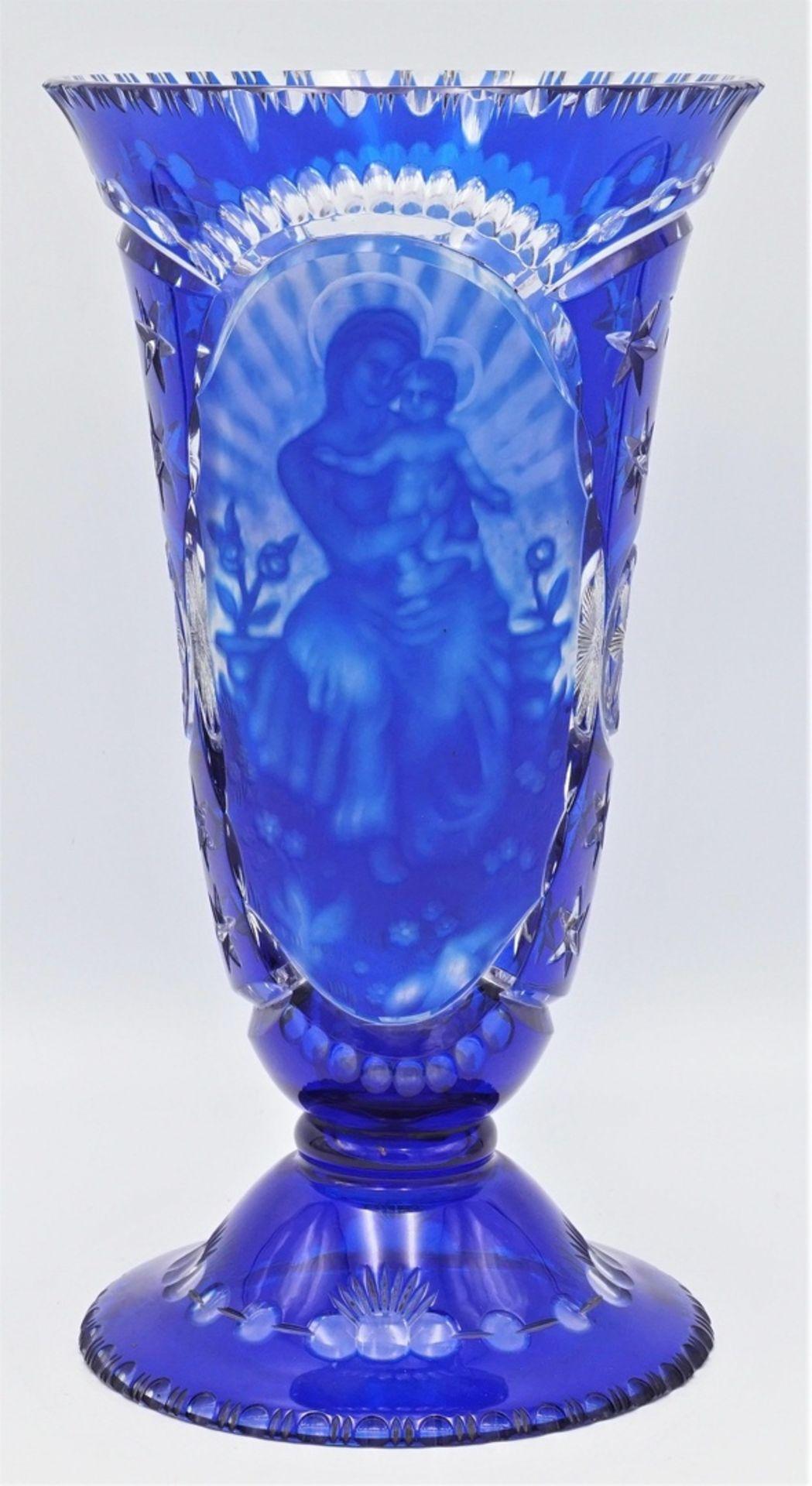 Vase mit religiösen Darstellungen - Bild 2 aus 4