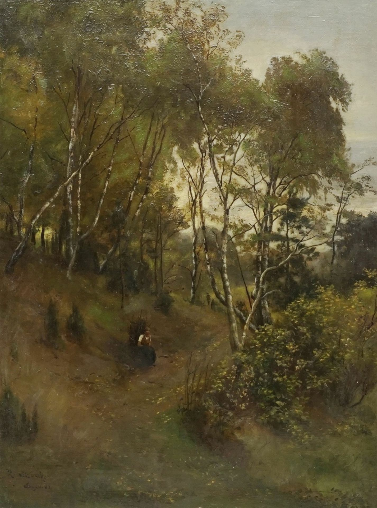 "Joseph Rummelspacher, ""Märkischer Herbstwald"""