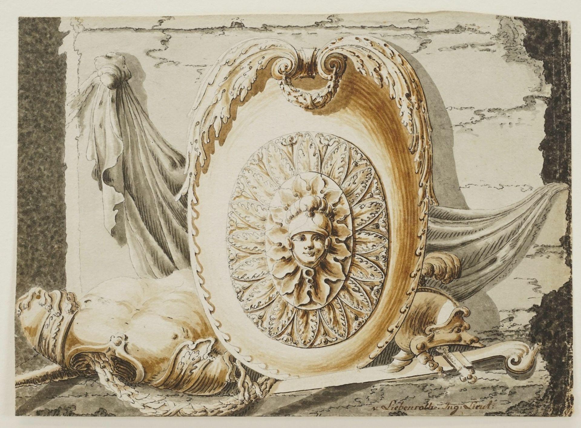 Gabriel von Liebenroth, Ehrenblatt für die Gefallenen - Bild 3 aus 4