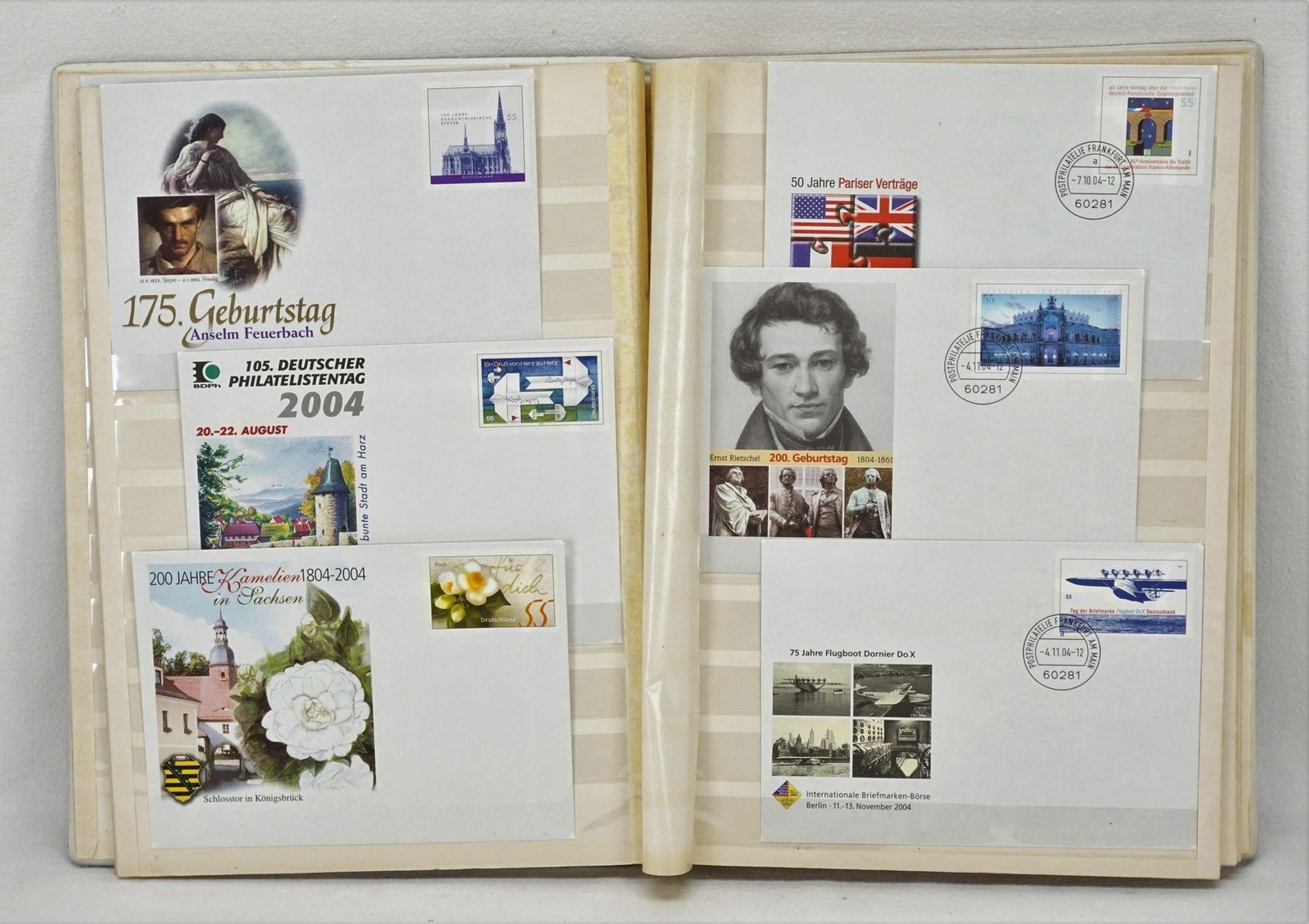 342 Ganzsachen Karten und Briefe BRD - Bild 4 aus 4