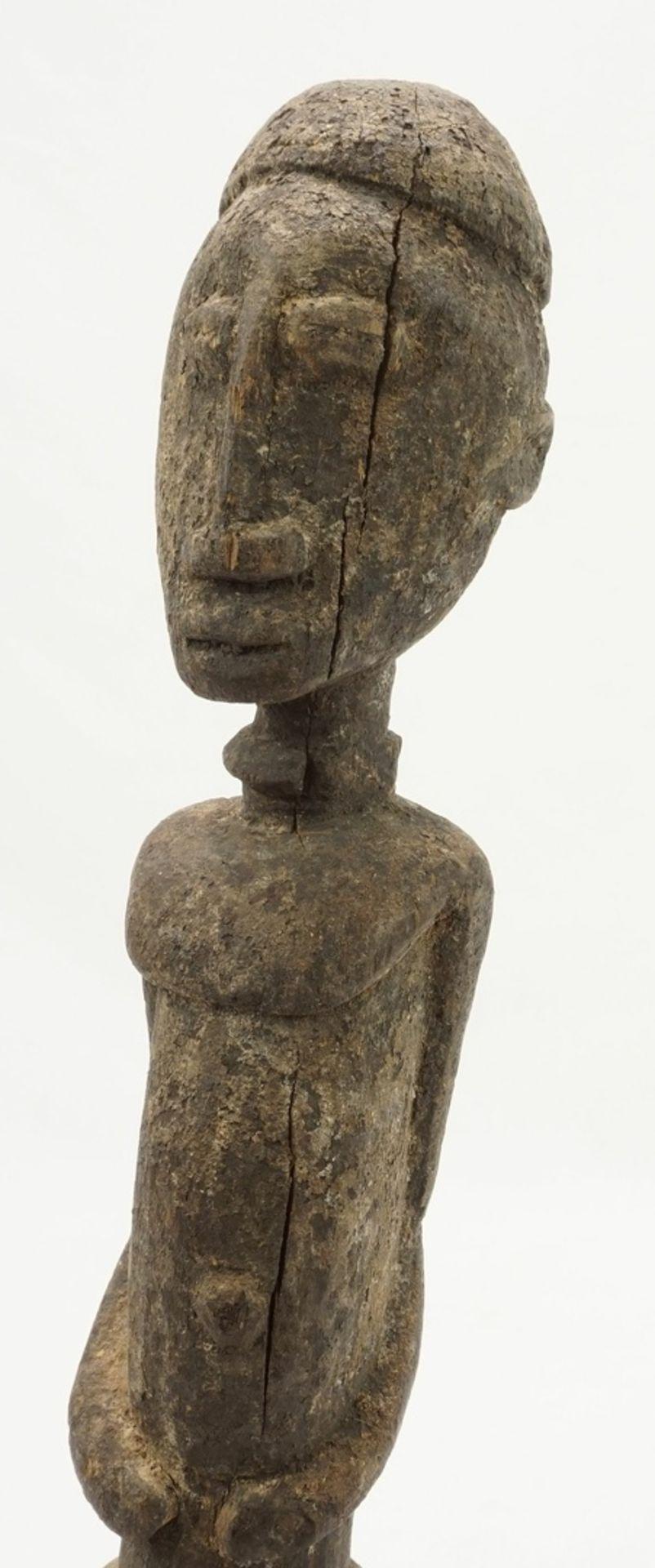 """Männliche Ahnenfigur """"dege"""" ( ), Dogon, Mali - Bild 6 aus 6"""