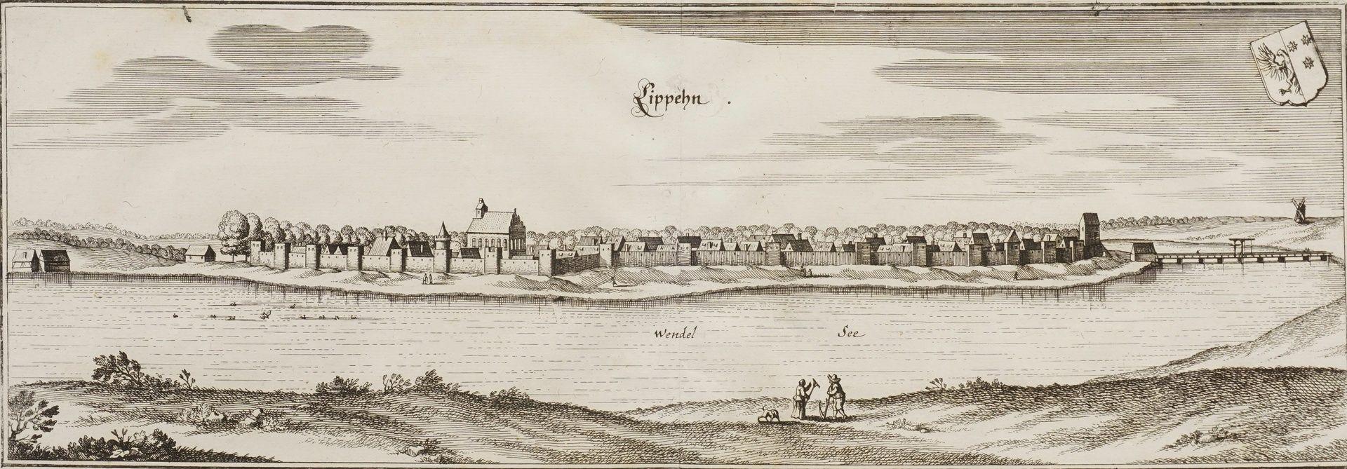 "Matthäus Merian, ""Lippehn"" (Lipiany, Westpommern)"