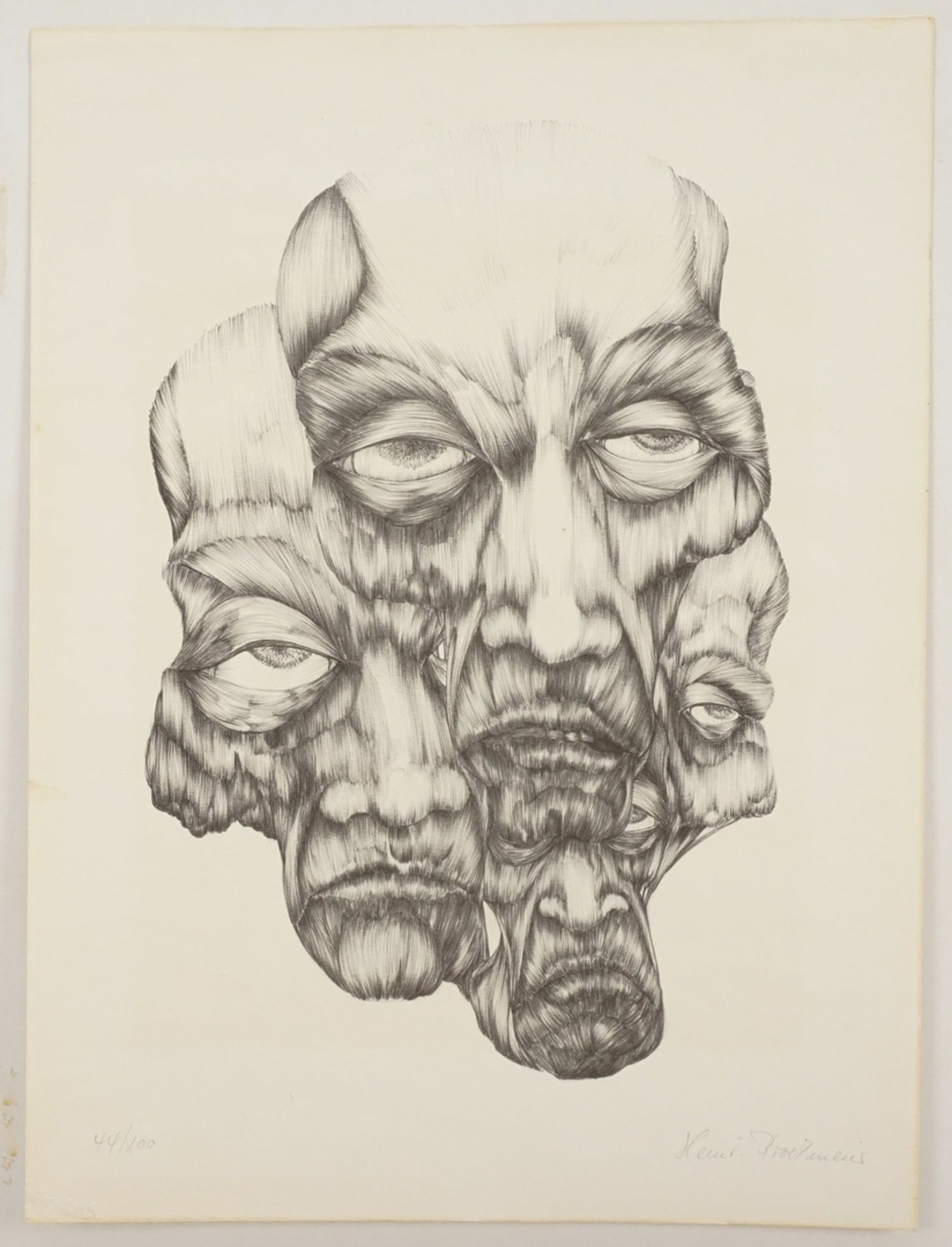 Heinrich Brockmeier, Köpfe - Bild 3 aus 4
