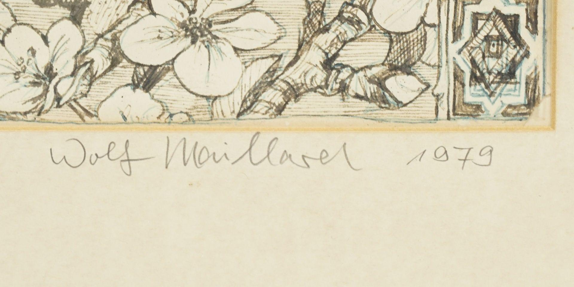 """Wolf Maillard, """"Worpswerder Mühle - letzter Entwurf"""" - Bild 3 aus 3"""