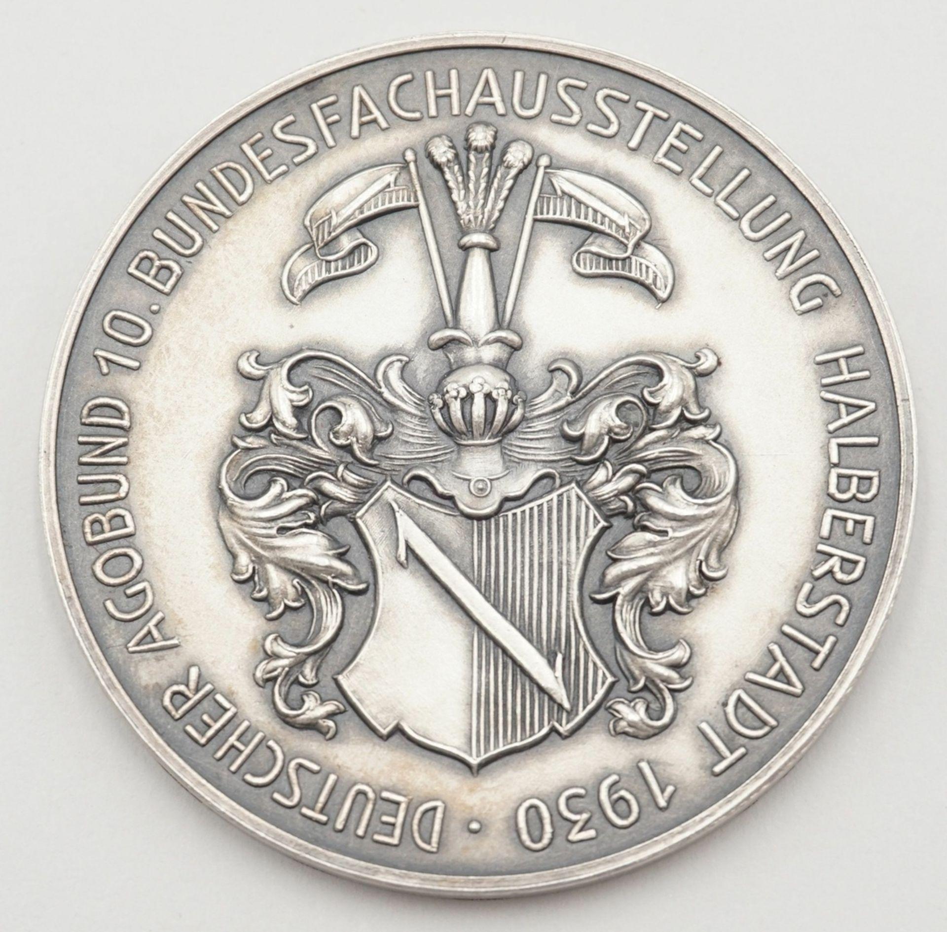 Silbermedaille Halberstadt, 1930 - Bild 3 aus 5