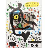 """Joan Miró, """"Cartons. Galerie Maeght"""" (Plakat)"""