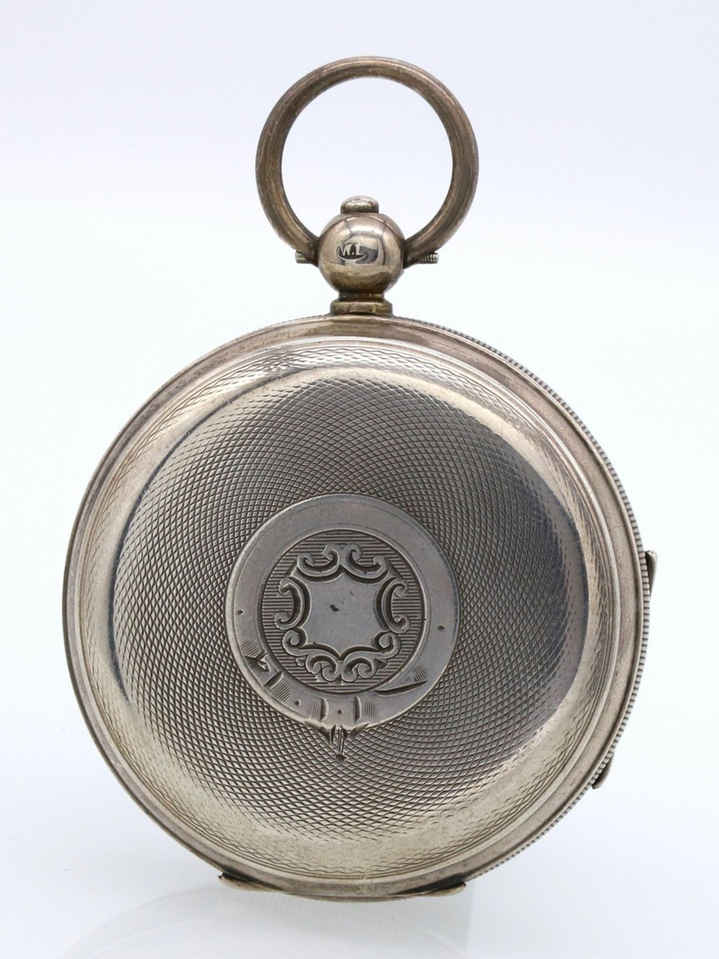 James Reid & Brothers Silber Taschenuhr, 1911 - Bild 6 aus 6