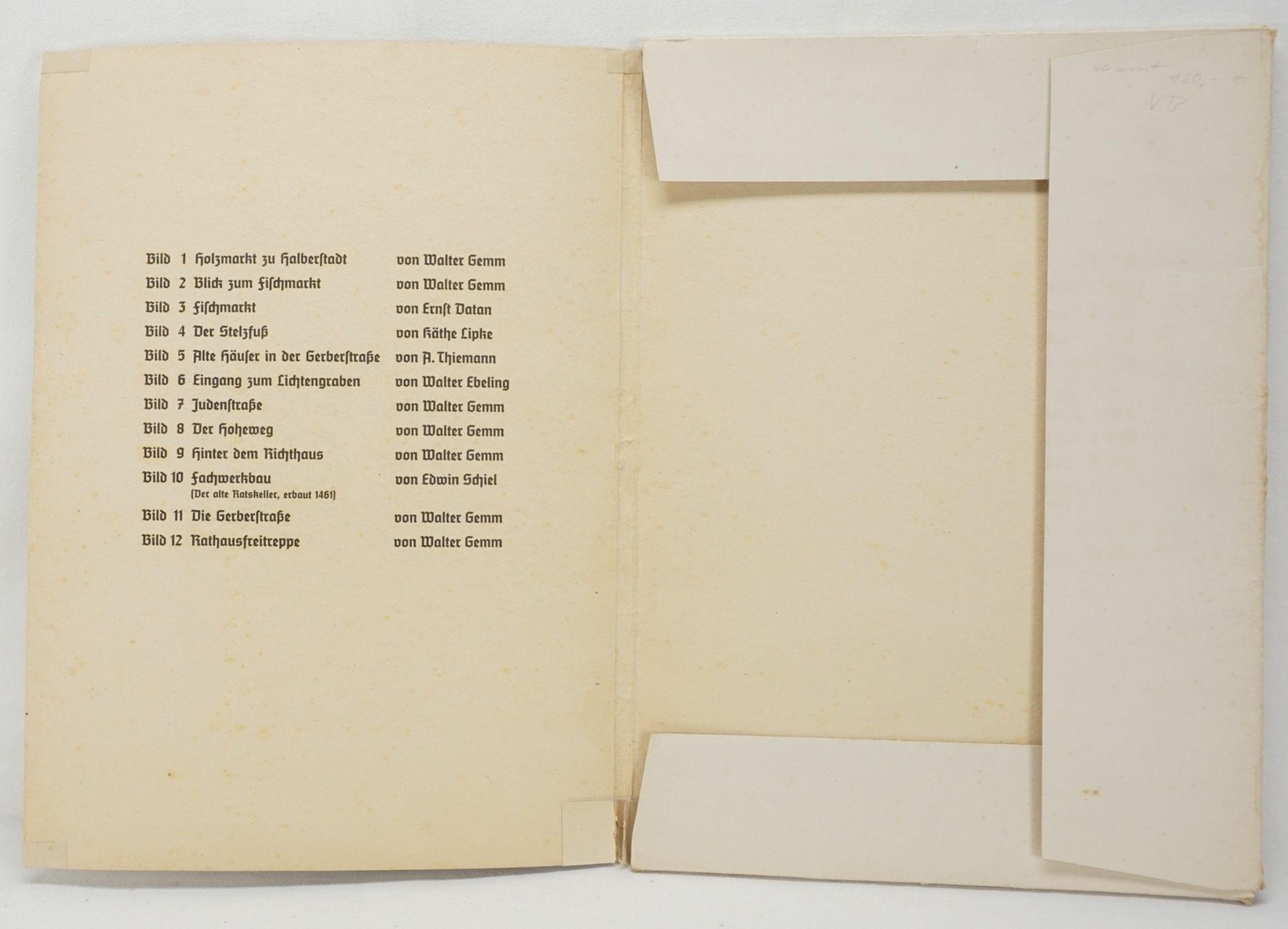 Kunstdruckmappe und Postkarten, Halberstadt am Harz - Bild 2 aus 7