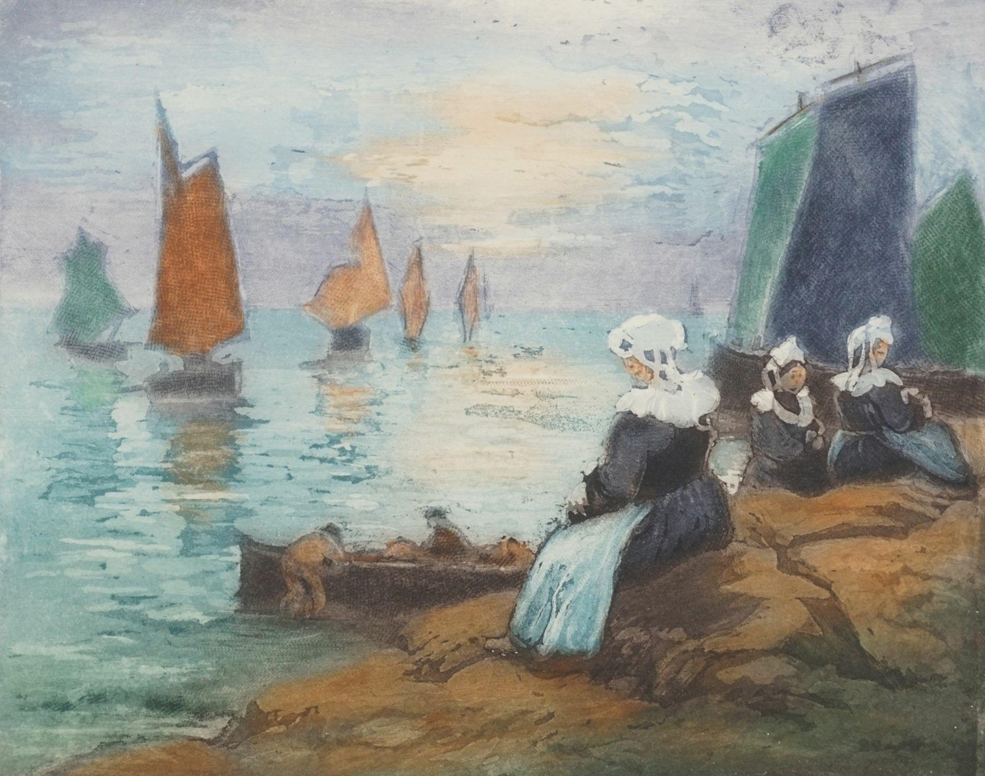 """Maurice Pellerier, """"Nuages d'orage"""" (Gewitterwolken)"""