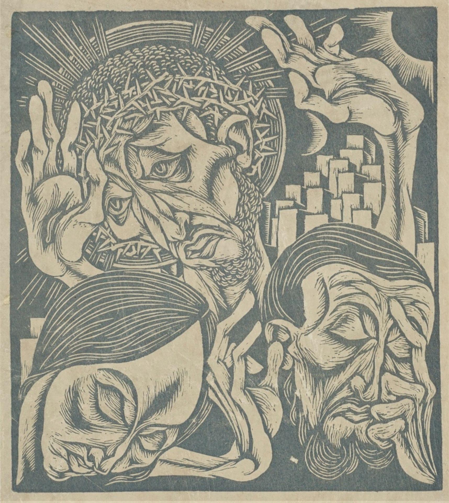 """Ewald Dülberg, aus """"Passion"""""""
