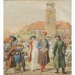 Christian Gottfried Heinrich Geißler, Die Herren auf dem Markt