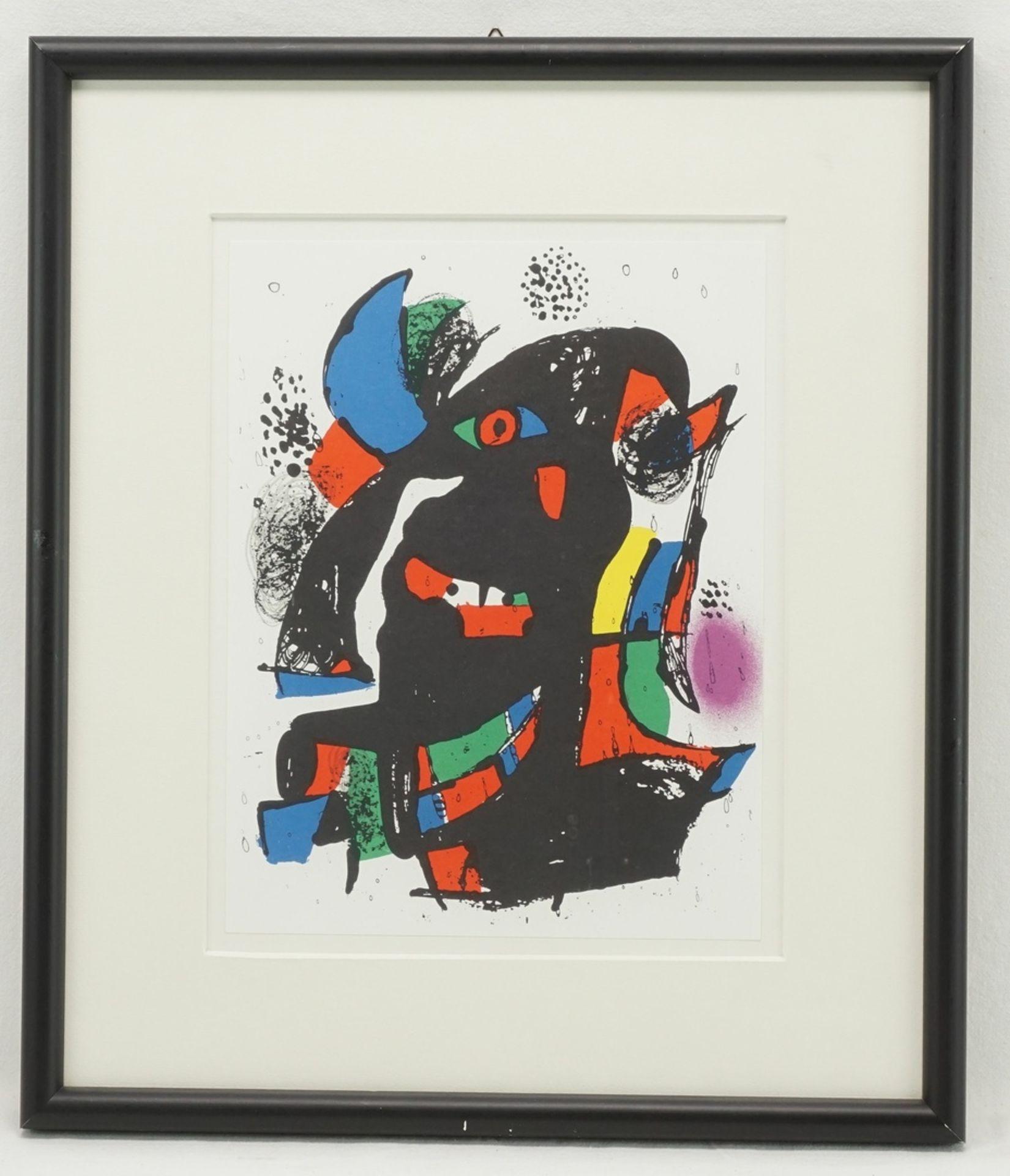 Joan Miró, Miró Lithographe, pl. III - Bild 2 aus 2