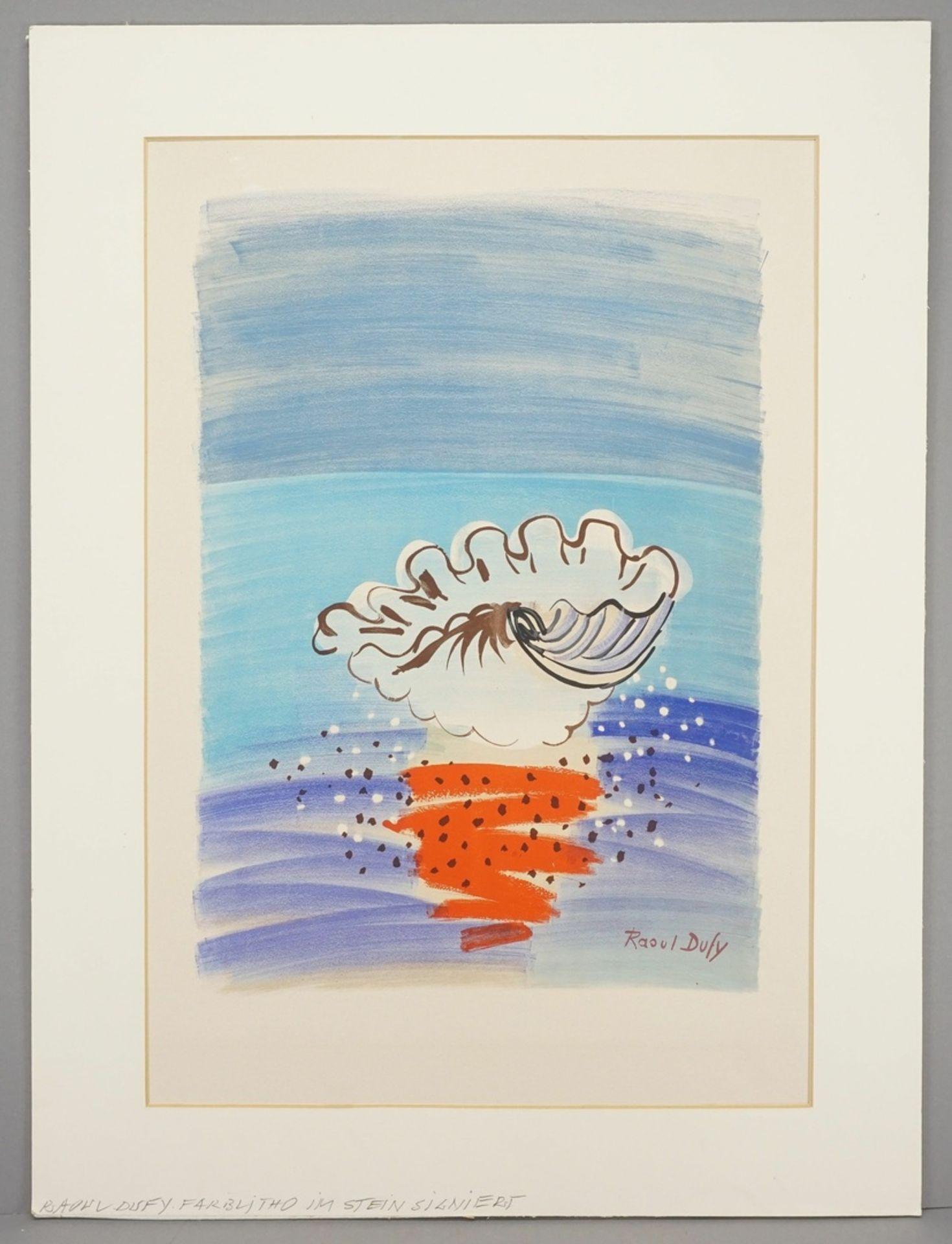 """Raoul Dufy, """"La Coquille / Die Muschel"""" - Bild 2 aus 4"""