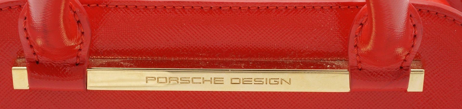 PORSCHE Design TwinBag Mini RED GOLD - Bild 9 aus 9