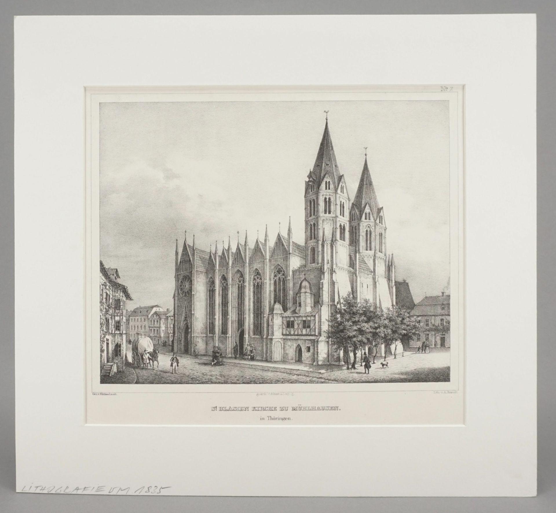 St. Blasien Kirche zu Mühlhausen in Thüringen - Bild 2 aus 3