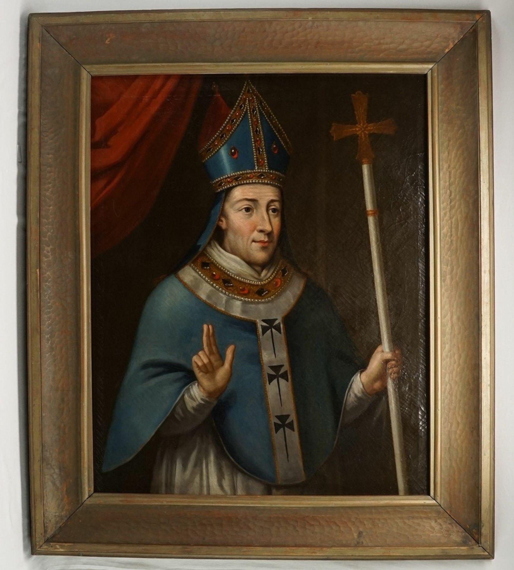 Unbekannter englischer Künstler, Henry Chichele (Chicheley), Erzbischof von Canterbury (1364-1443) - Bild 2 aus 6