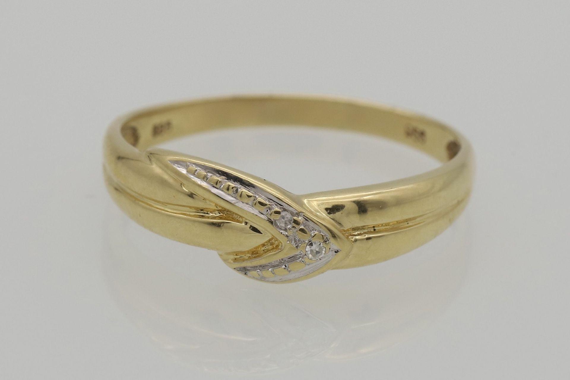 Diamant-Ring - Bild 2 aus 4