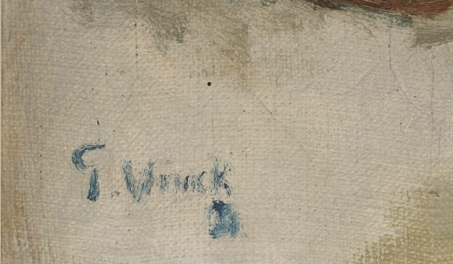 """G. Winck, """"Stillleben mit Birnen und Henkelvase"""" - Bild 4 aus 4"""