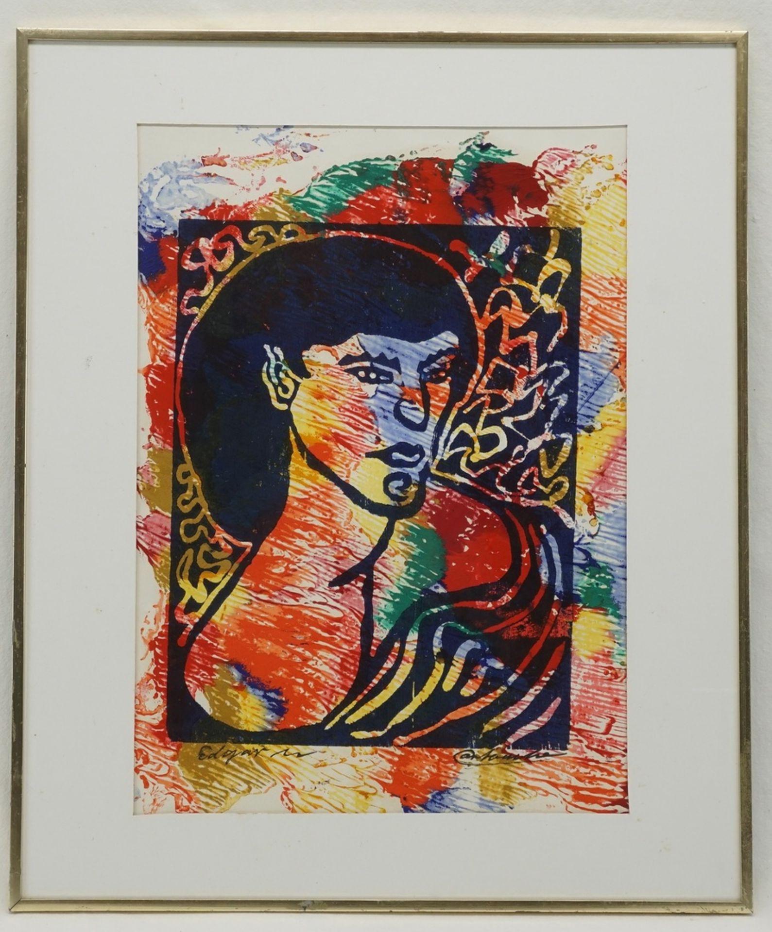 """Edgar Mrugalla, """"Portrait einer Frau"""" - Bild 2 aus 4"""