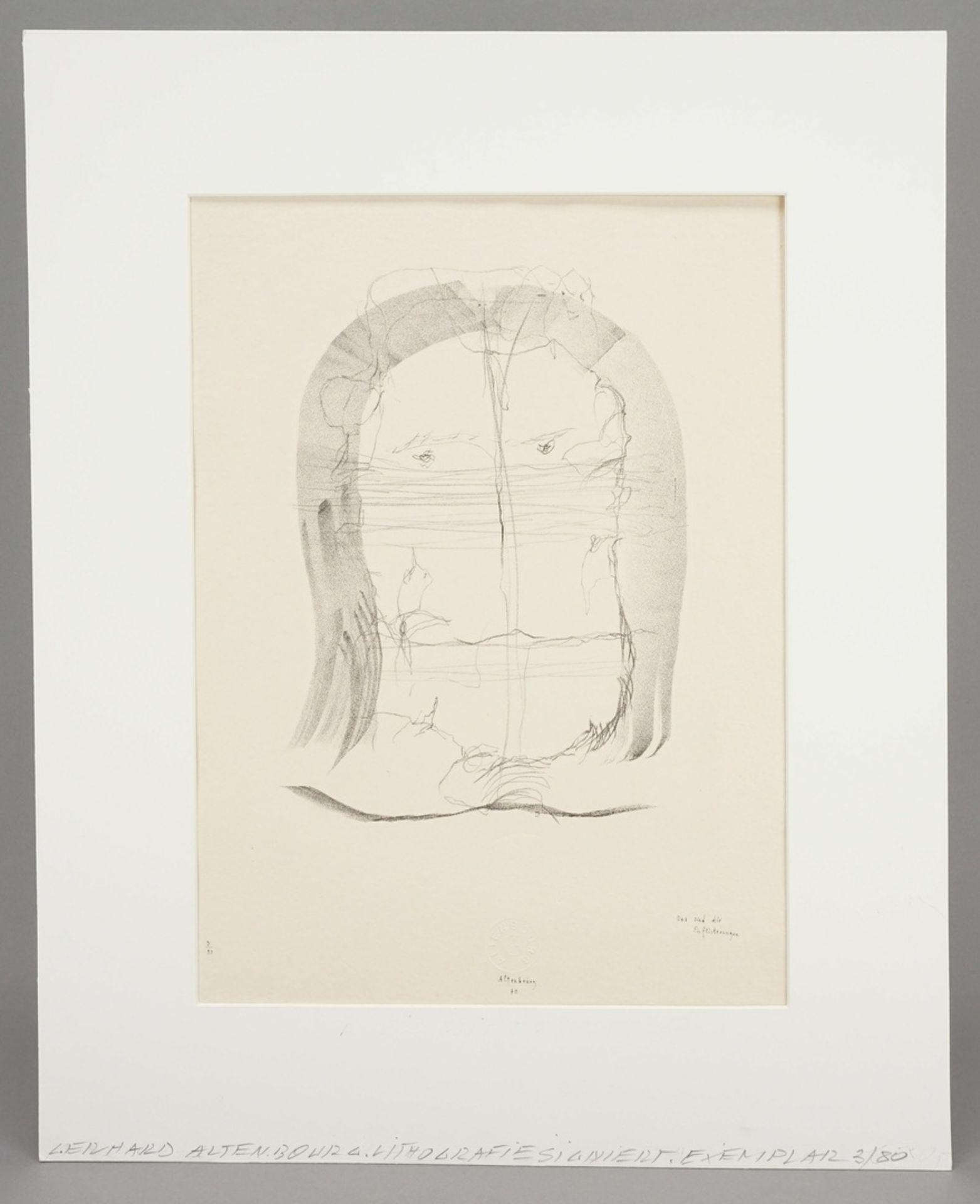 """Gerhard Altenbourg, """"Das sind die Einflüsterungen"""" - Bild 2 aus 4"""