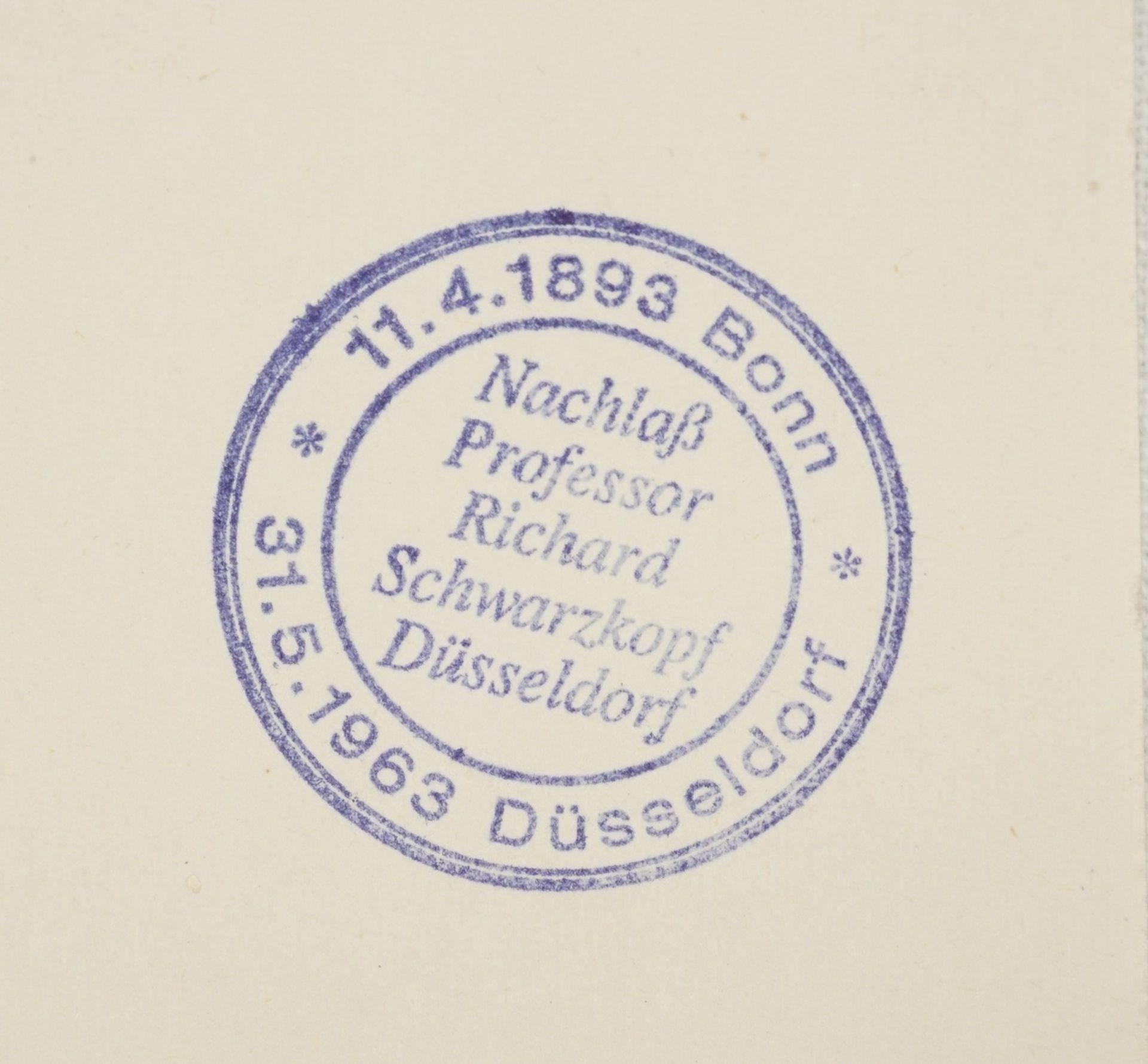 Richard Schwarzkopf, Bei der Fußwaschung - Bild 4 aus 4