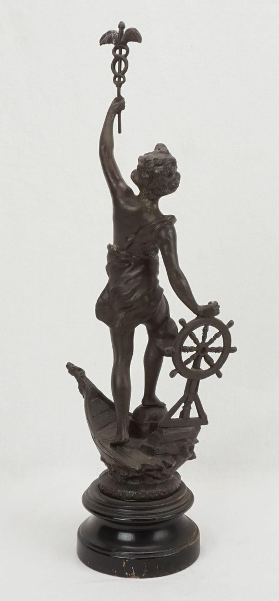 Zwei allegorische Figuren, für Handwerk und Wirtschaft & Handel - Bild 5 aus 5
