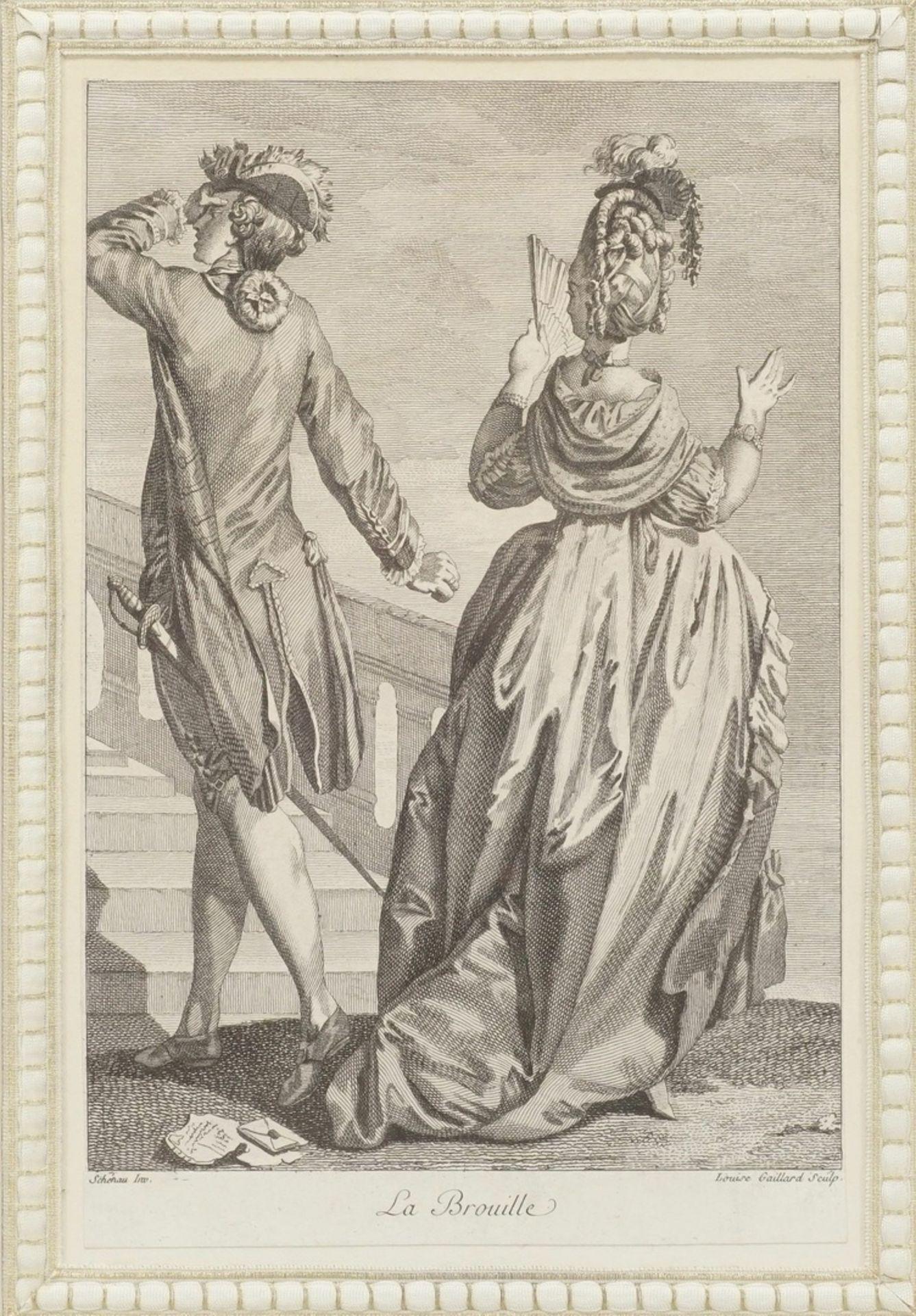"Louise Gaillard, ""La Brouille"" (Die Turbulenz)"""