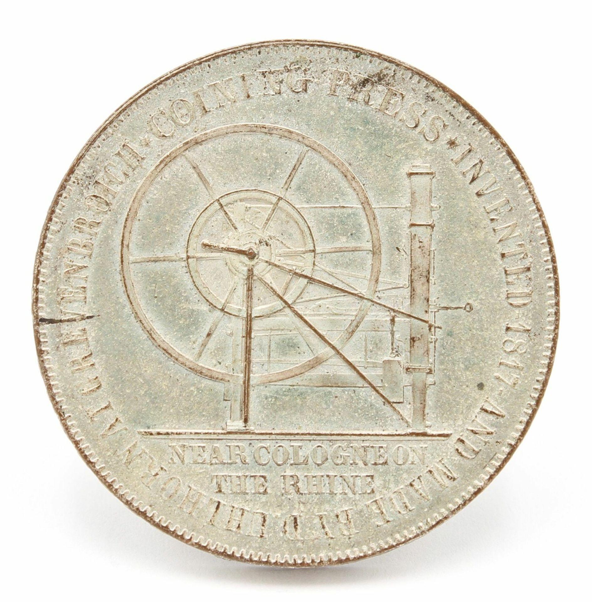 """Medaille zur """"Great Exhibition"""" in London 1851 - Bild 2 aus 2"""