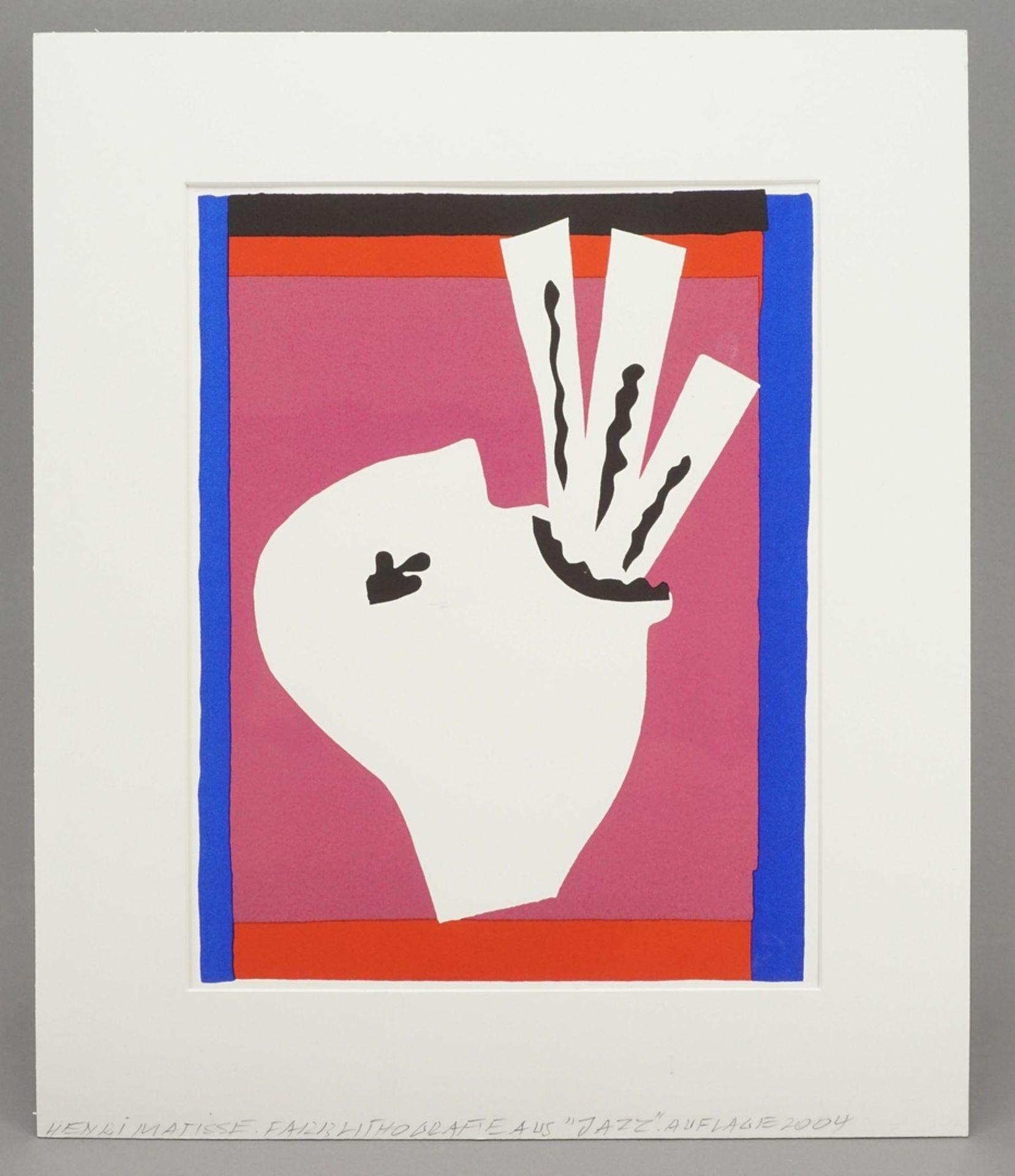 """Henri Matisse, """"L'Avaleur de Sabres"""" (Der Schwertschlucker) - Bild 2 aus 3"""