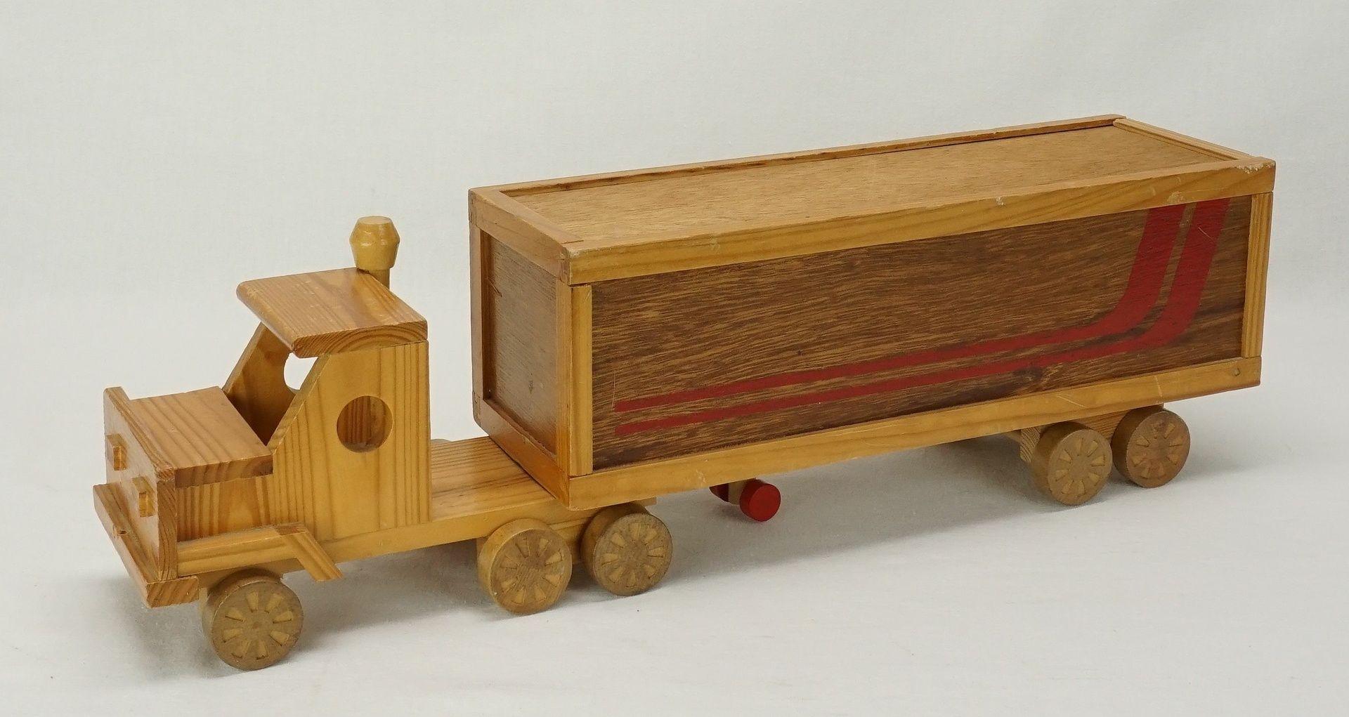 Holz Truck, 2. Hälfte 20. Jh.