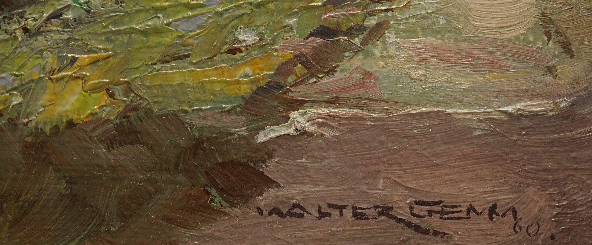 """Walter Gemm, """"Christianental mit Forsthaus bei Wernigerode im Harz"""" - Bild 4 aus 4"""