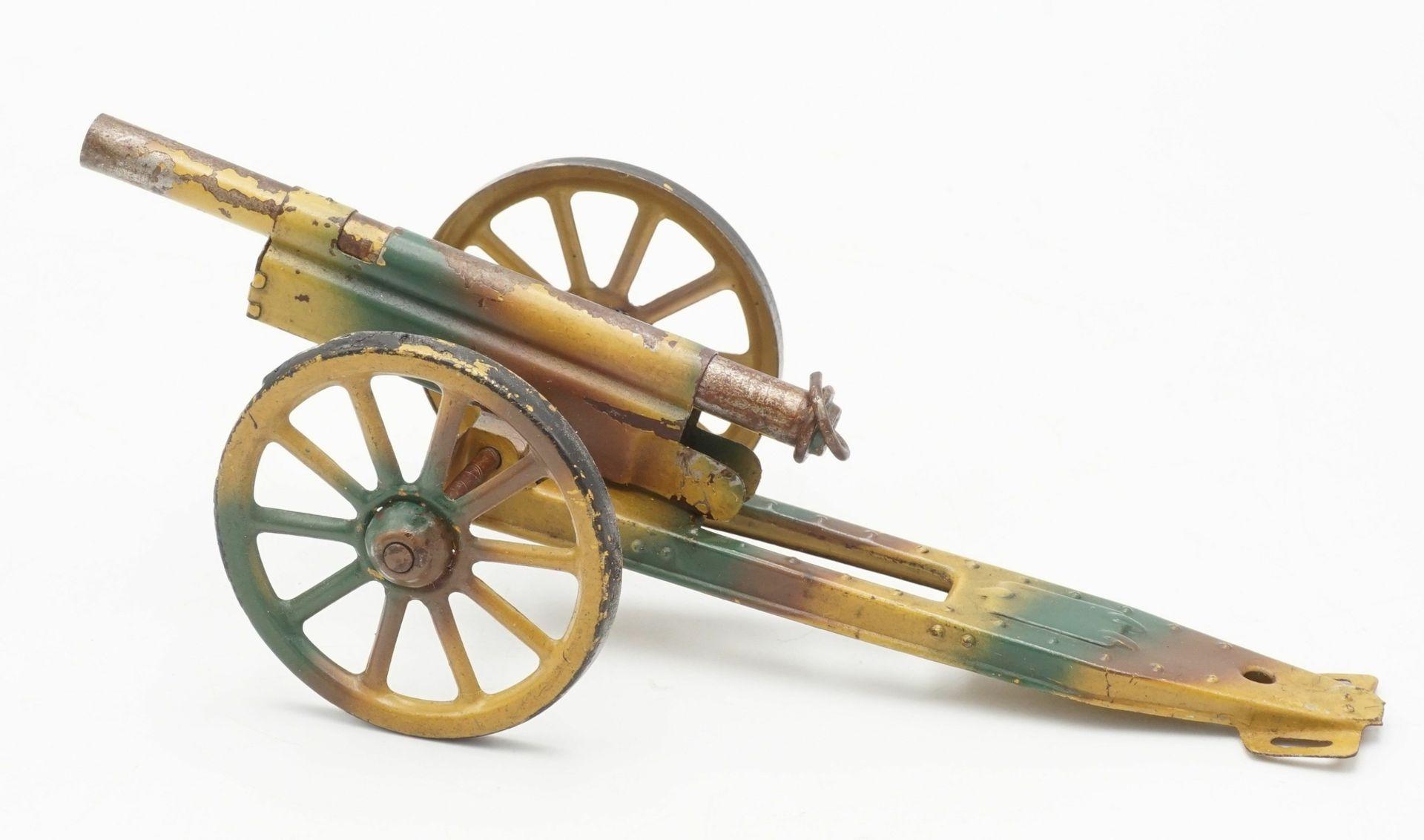 Sieben Blech Geschütze, 1. Hälfte 20. Jh. - Bild 6 aus 7